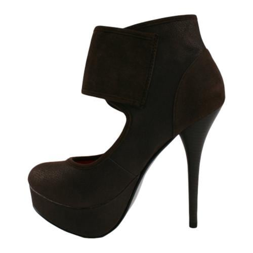 Women's Wild Diva Sophia-13 Brown Faux Leather/Polyurethane