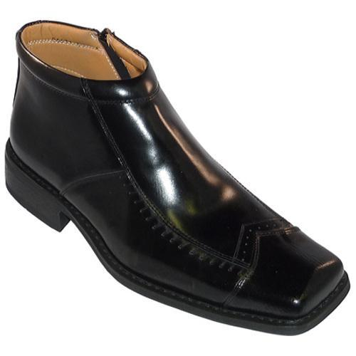 Men's Zota 96631 Black Leather