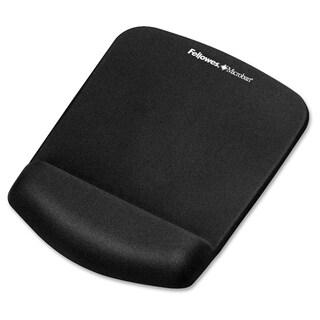 Fellowes PlushTouch™ Mouse Pad Wrist Rest - Black