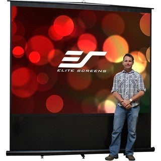 Elite Screens FM120V Reflexion Ceiling/Wall or Floor Mount Manual Pro