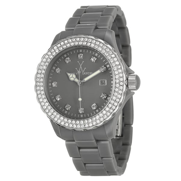 ToyWatch Women's 'Plasteramic' Water-Resistant Crystal Watch