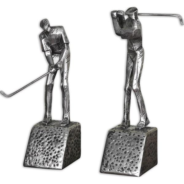 Uttermost 'Practice Shot' Golf Bookends (Set of 2)