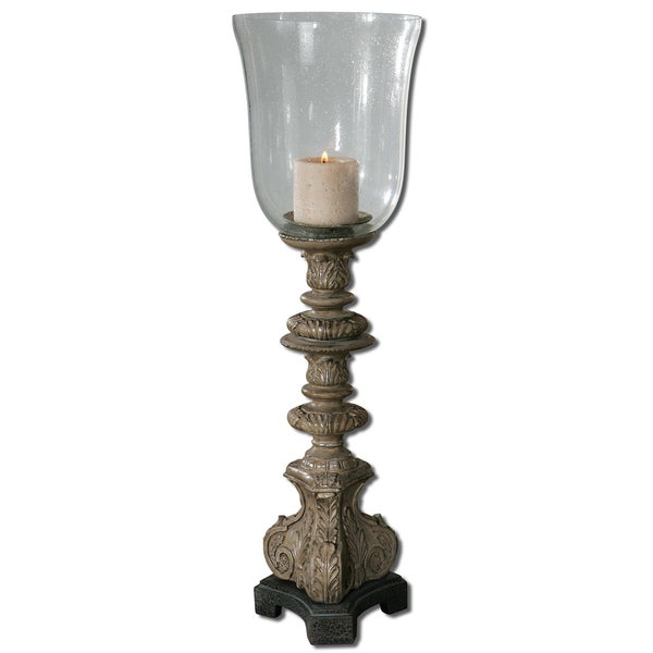 Uttermost Nerio Distressed Candle Holder