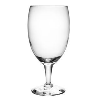 Footed Glass Goblets (Set of 8)