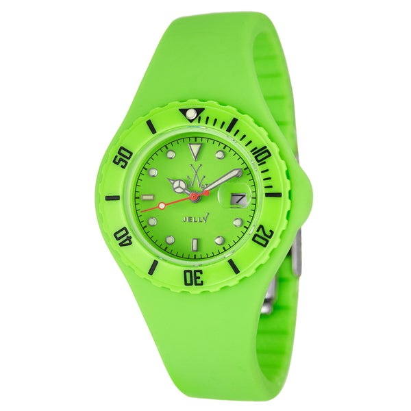 ToyWatch Women's Water-resistant Plastic 'Jelly' Diver Watch