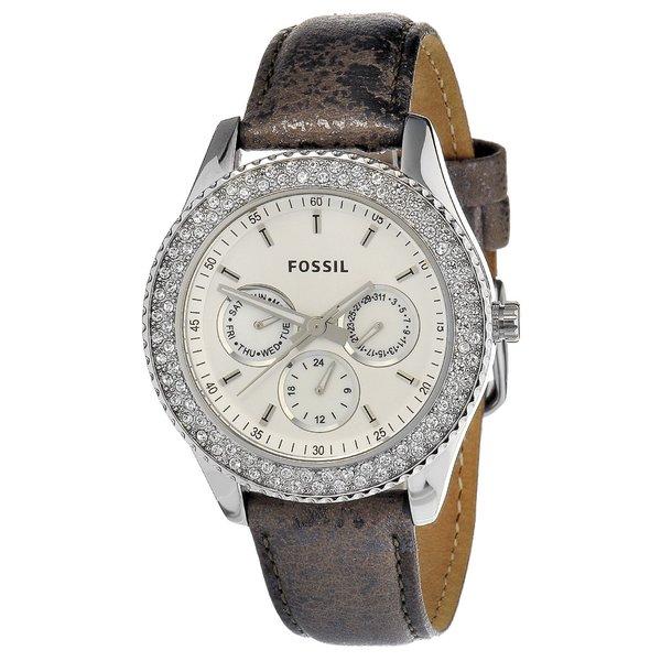Fossil Women's Pewter 'Stella' Watch