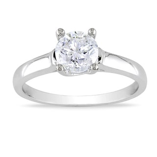 Miadora Signature Collection 14k Gold 1ct TDW Diamond Solitaire Engagement Ring