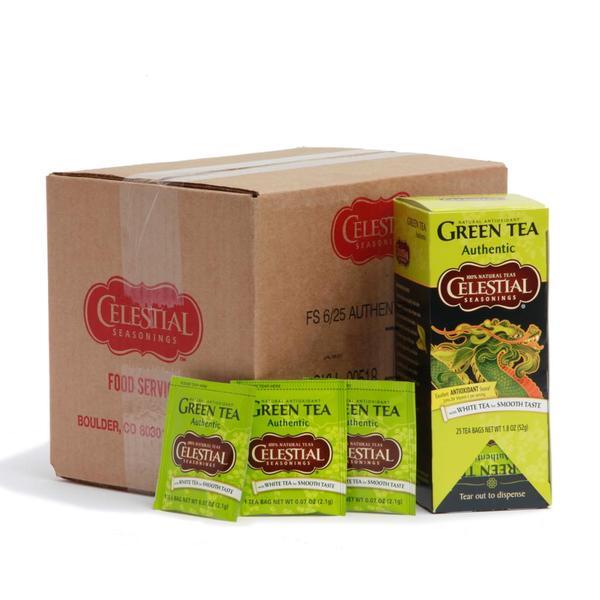 Celestial Seasonings Authentic Green Tea (Pack of 6)