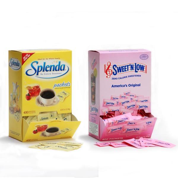 Sweetener Variety Dispenser Pack (Pack of 4)