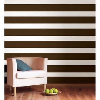 WallPops Hot Chocolate Stripe Bundle Vinyl Wall Art