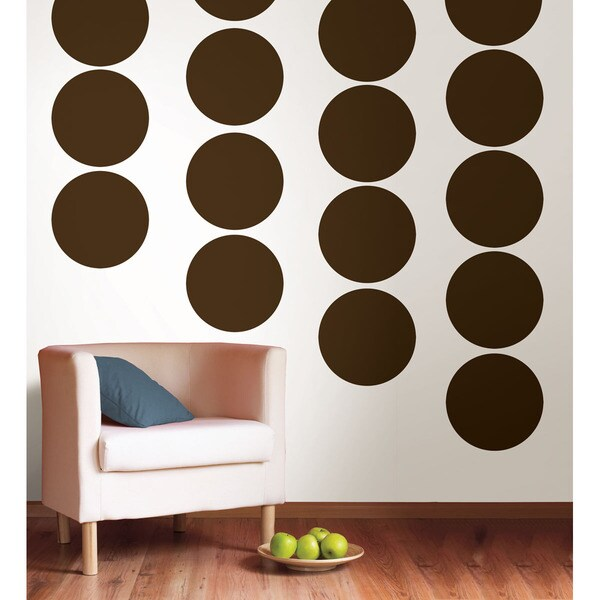 WallPops Hot Chocolate Dot Pack