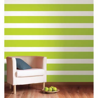 WallPops Stylin' Green Stripe Pack