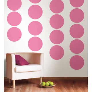 WallPops Pink Dot Decal Pack