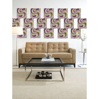 WallPops Paisley Twister Blox Decal Pack