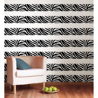 WallPops Go Wild Zebra Stripe Decal Pack