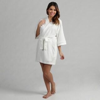 Aegean Apparel White Women's Lightweight Bathrobe