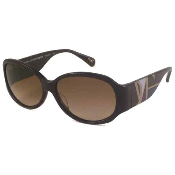 Diane Von Furstenberg Women's DVF507S Oval Sunglasses