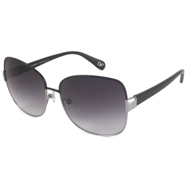 Diane Von Furstenberg Women's DVF815S Tara Rectangular Sunglasses