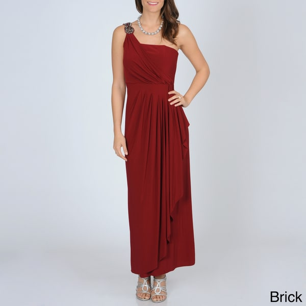R & M Richards Women's Goddess Jersey Knit Gown