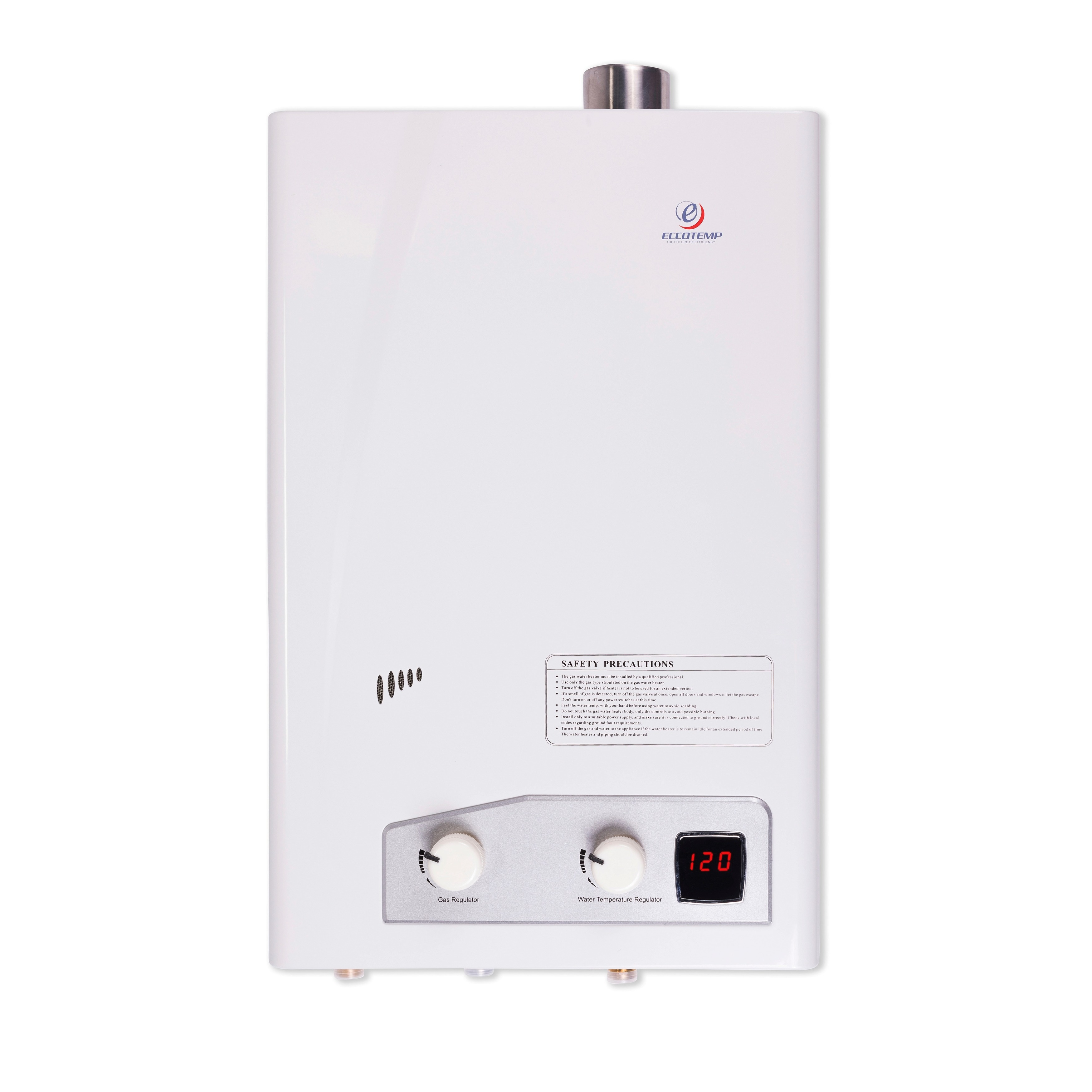 Eccotemp High Capacity Natural Gas Tankless Water Heater ...