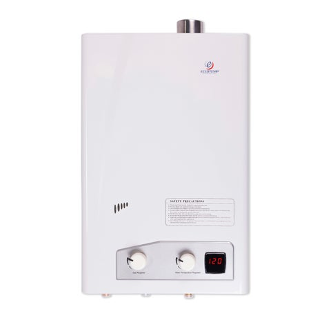 High Capacity Natural Gas Tankless Water Heater