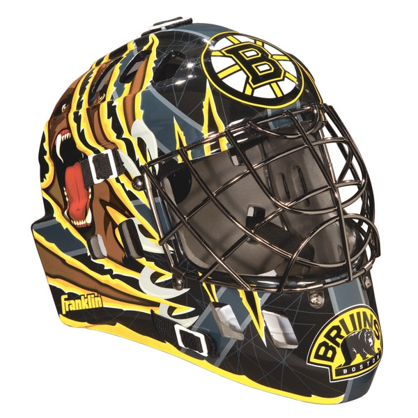 NHL Team Boston Bruins SX Comp GFM 100 Goalie Face Mask
