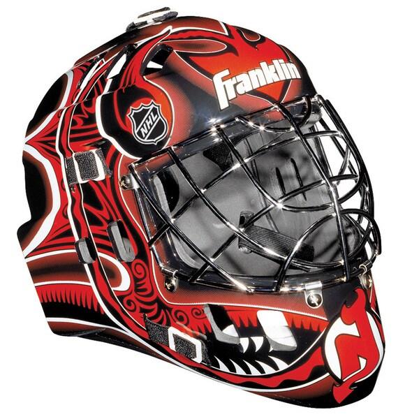NHL Team New Jersey Devils SX Comp GFM 100 Goalie Face Mask