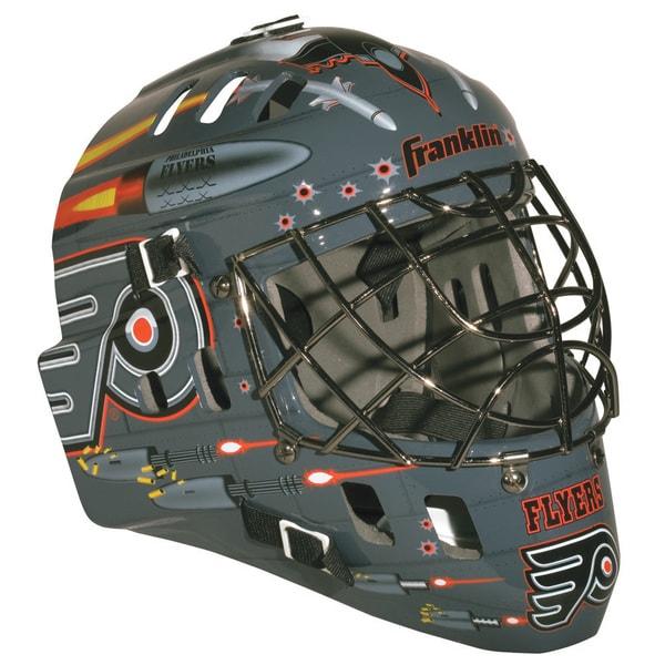 NHL Team Philadelphia Flyers SX Comp GFM 100 Goalie Face Mask