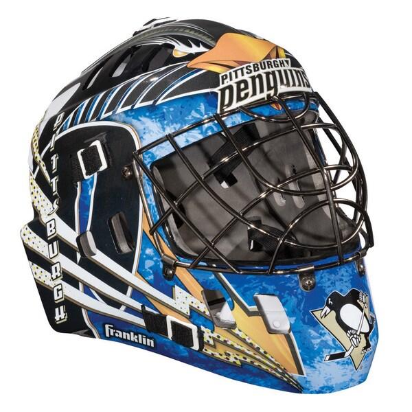 Shop Nhl Team Pittsburgh Penguins Sx Comp Gfm 100 Goalie Face Mask