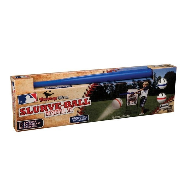 MLB Slurve-Ball Backyard Baseball Set