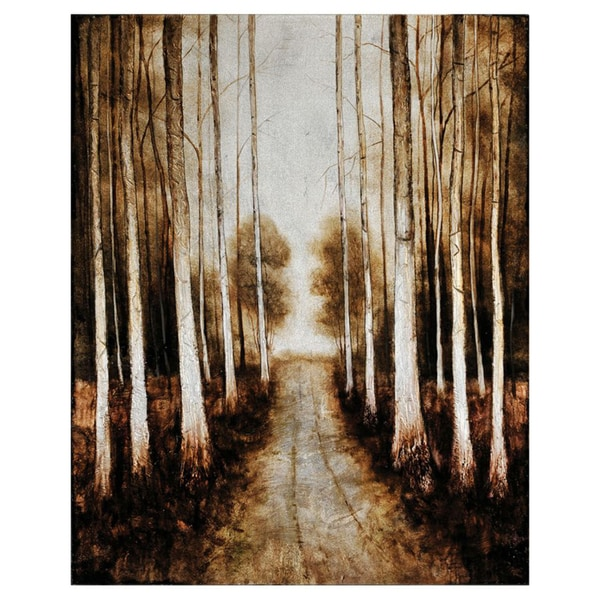 Lecavalier 'Pathway' Hand-painted Canvas Art