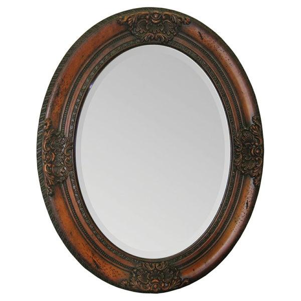 Ren Wil Chelsea Cherry Wood Mirror