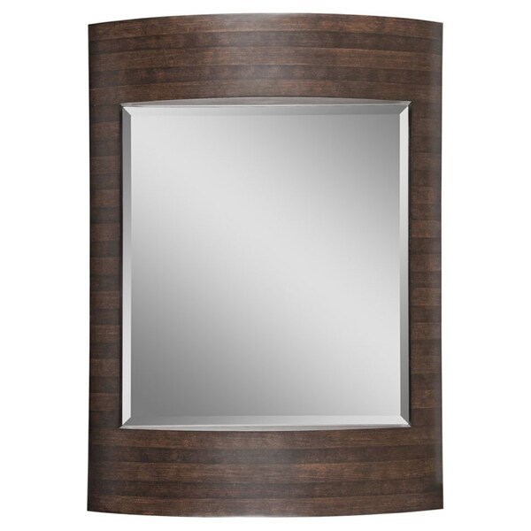 Easton Brown/ Dark Brown Mirror