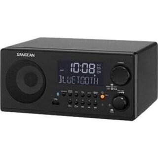 Sangean WR-22 Desktop Clock Radio - 7 W RMS - Mono