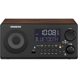 Sangean WR-22 Clock Radio - 7 W RMS
