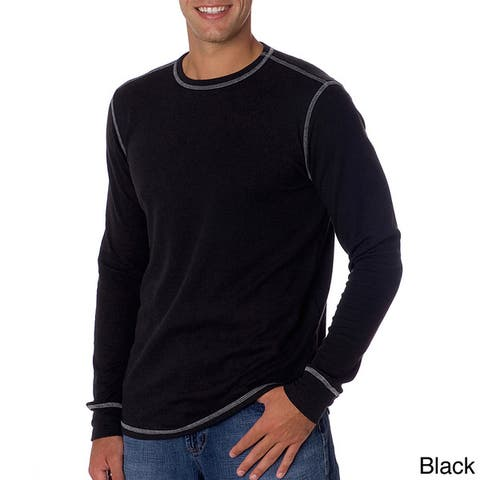 Men's Canvas Thermal Shirt