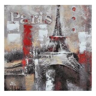 Ren Wil Paradis 'Memories of Paris' Hand-painted Canvas Art