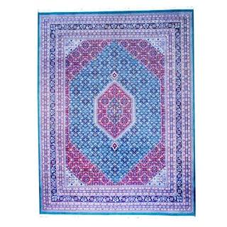 Handmade One-of-a-Kind Bidjar Wool Rug (India) - 9'1 x 12'