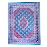 Herat Oriental Indo Hand-knotted Bidjar Wool Rug - 9'1 x 12'