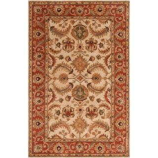 Hand-tufted Woodville Semi-Worsted Wool Rug