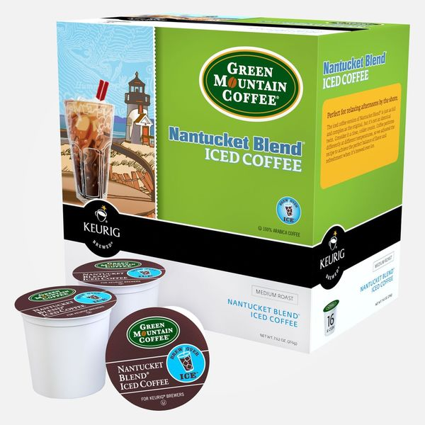 Green Mountain Coffee Nantucket Blend Iced Coffee (Case of 88)