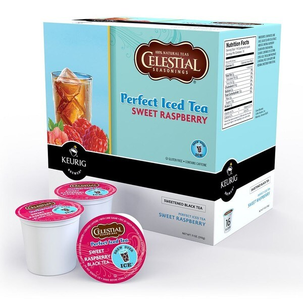 Celestial Seasonings Sweet Raspberry K-cups