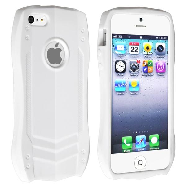 BasAcc White Sports Car TPU Rubber Skin Case for Apple® iPhone 5