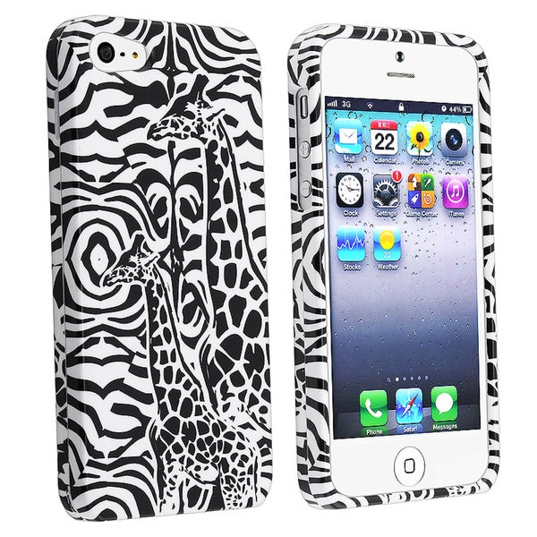 BasAcc Black Giraffe Snap-on Case for Apple® iPhone 5