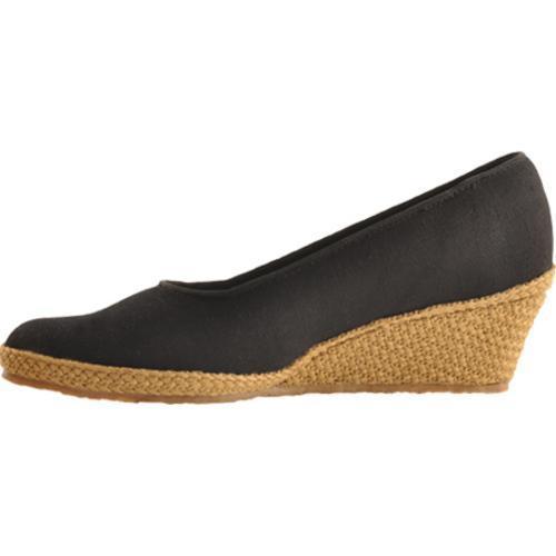 Women's Beacon Shoes Newport Black Canvas - Thumbnail 2