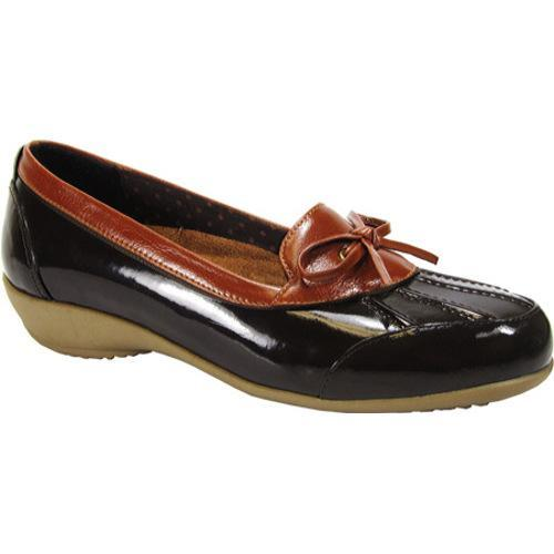 Women's Beacon Shoes Rainy Brown Patent