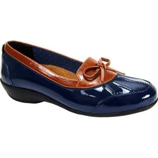Women's Beacon Shoes Rainy Navy Patent