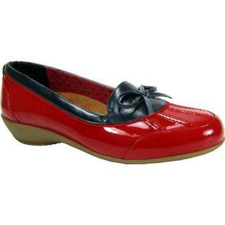 Women's Beacon Shoes Rainy Red Patent (Option: US Women's 7 N (Narrow))