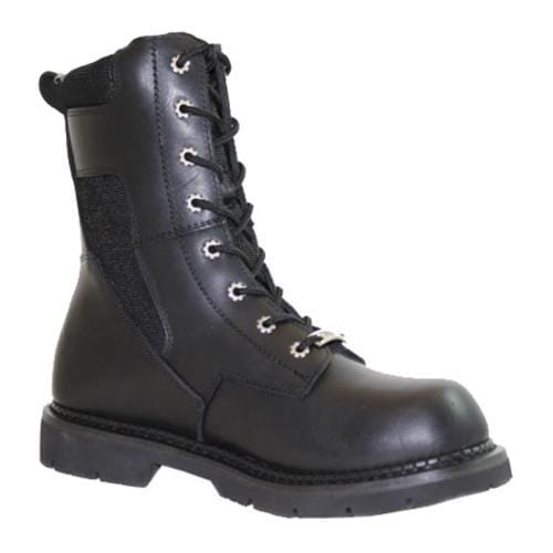 Men's Ride Tecs Swat Boot With Zipper Black - Thumbnail 0