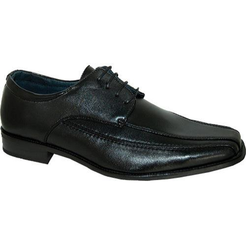 Men's Giorgio Baccini Simple Elegance Leather Lined Dress Shoe Black